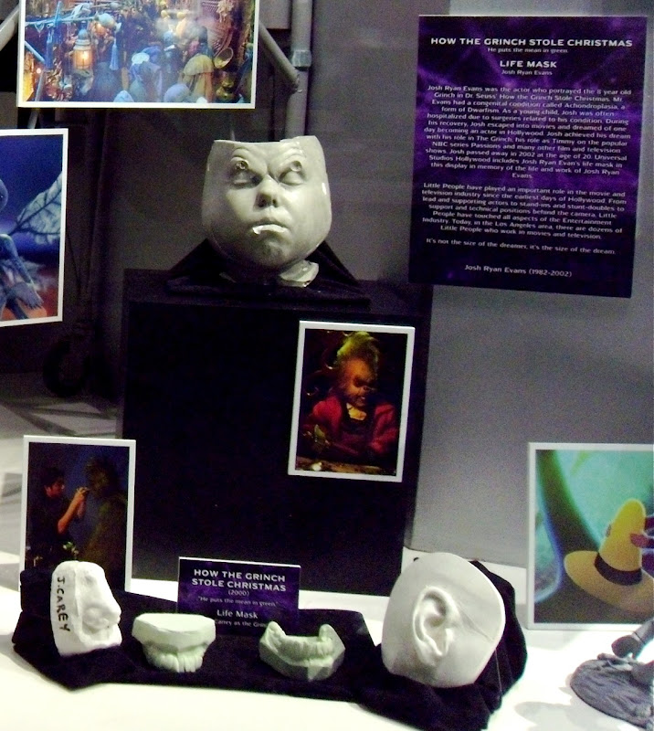 Jim Carrey's How the Grinch stole Christmas life Mask