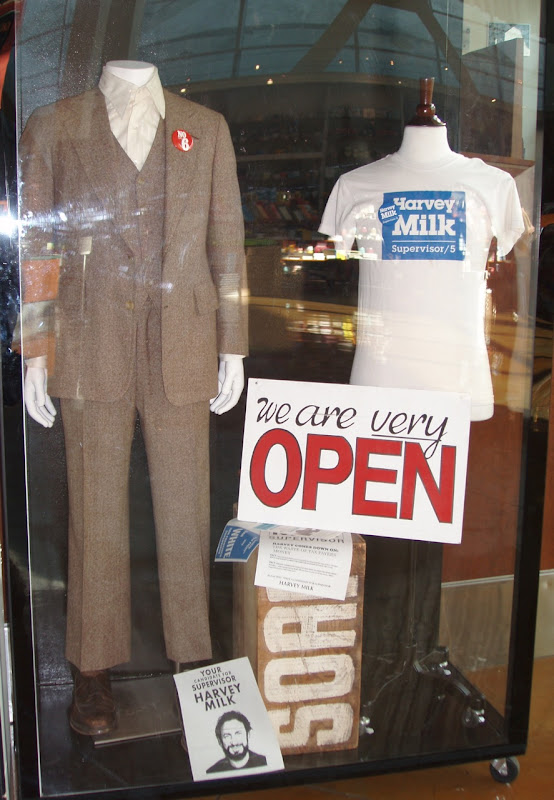 Sean Penn Harvey Milk movie costume