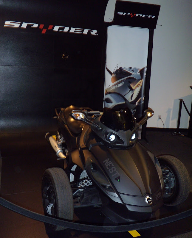 Transformers 2 Can-Am Spyder Roadster used by NEST military taskforce