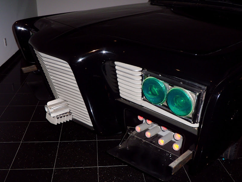 The Green HOrnet's 1966 Imperial Black Beauty car