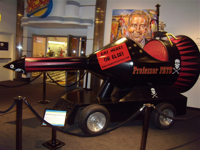 Professor Fate's Rocket car from The Great Race movie