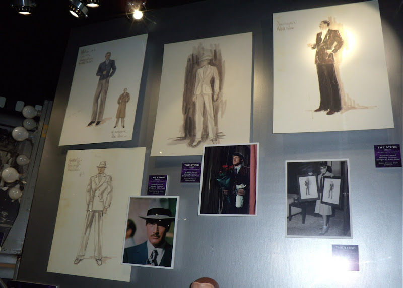 Edith Head's Oscar-winning costume designs for The Sting movie