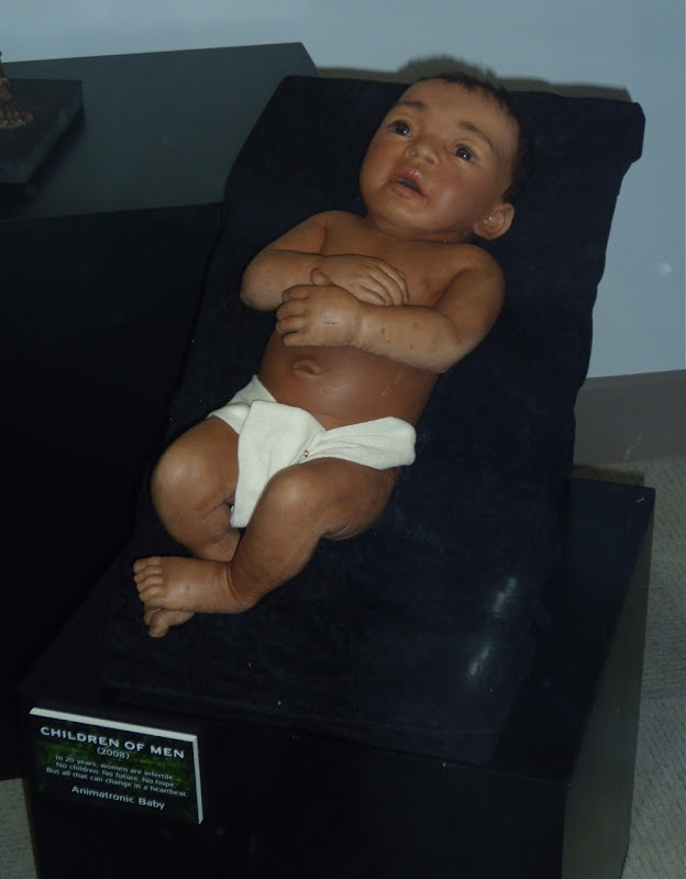 Children of Men animatronic baby