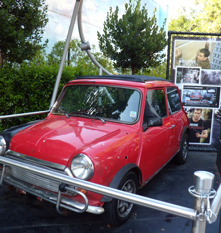 Actual Bourne Identity Mini Cooper movie car