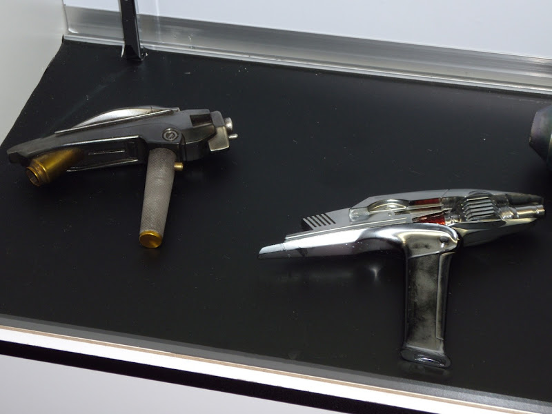 New Star Trek phaser movie props