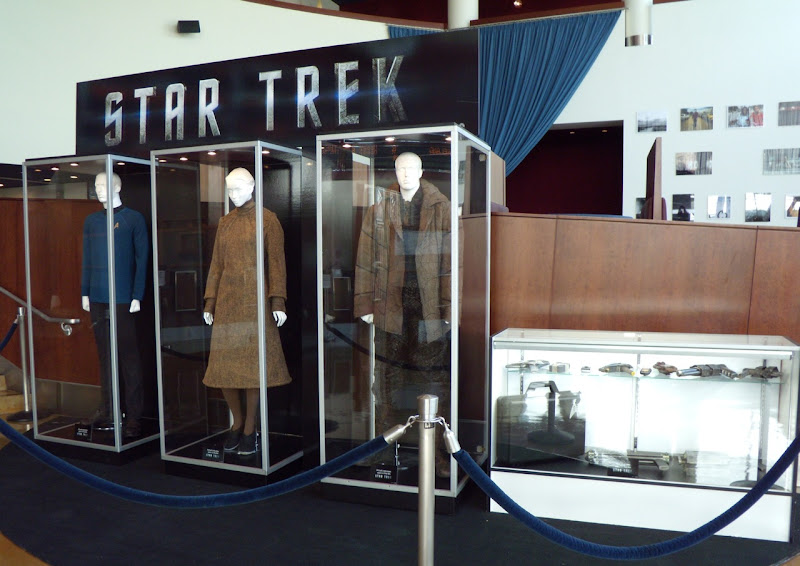 Star Trek movie costumes and props at ArcLight Hollywood