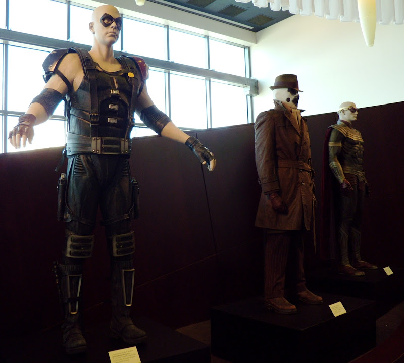 Original Watchmen movie superhero costumes