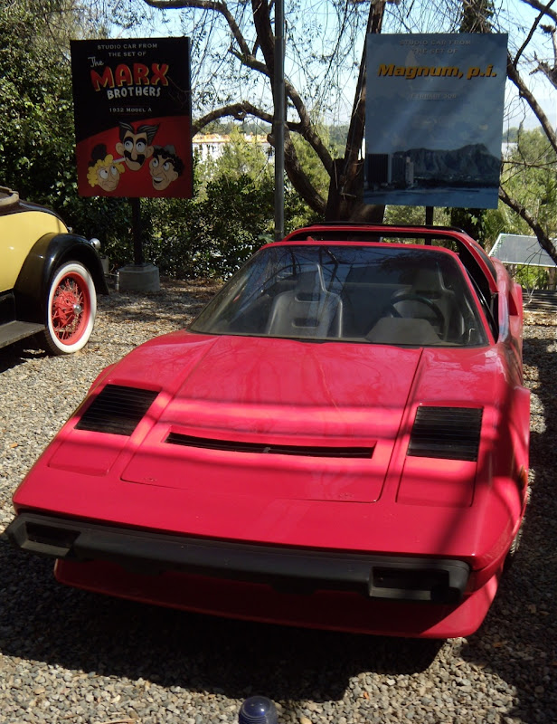 Magnum PI red Ferrari 308 car