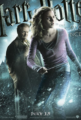 Hermione and Professor Slughorn Harry Potter 6 poster