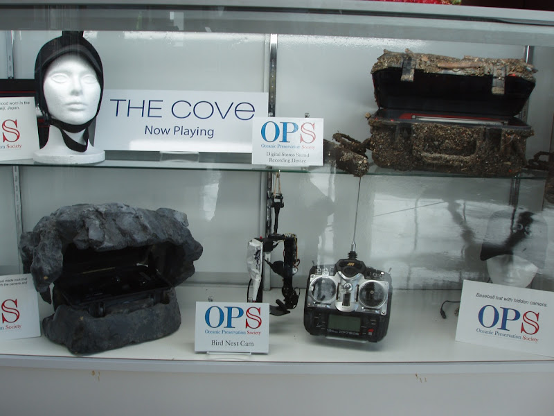 Secret recording equipment used in The Cove