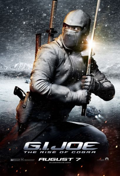 GI Joe movie Storm Shadow film poster