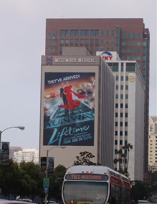 Project Runway TV billboard