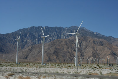 Wind Turbines Palm Springs