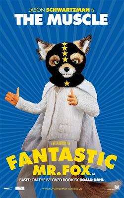 The Muscle Fantastic Mr Fox poster
