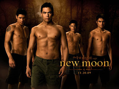 The Wolf Pack from Twilight New Moon