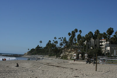 Laguna Beach shore