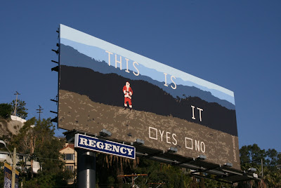 This is it Christmas Adult Swim billboard