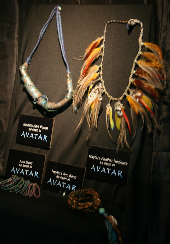 Avatar Na'vi movie props