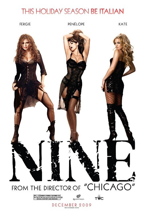 Nine Fergie, Penelope and Kate poster