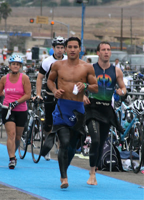 Buff Mario Lopez at Malibu Triathlon Sep 09