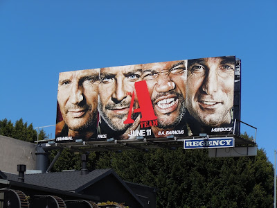 A-Team film billboard