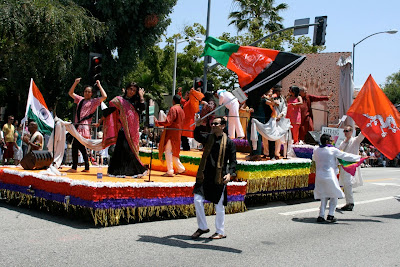 India float West Hollywood Pride 2010