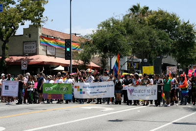 Gay straight alliance LA Pride 2010
