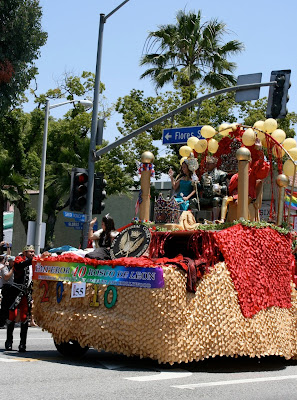 Imperial Court float LA Pride 2010