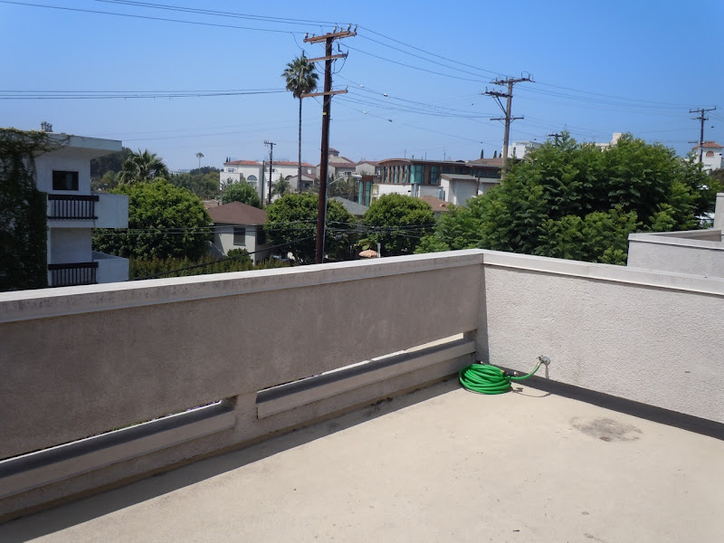 West Hollywood condo roofdeck