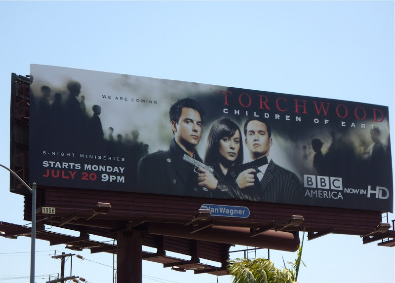 Torchwood Children of Earth TV billboard
