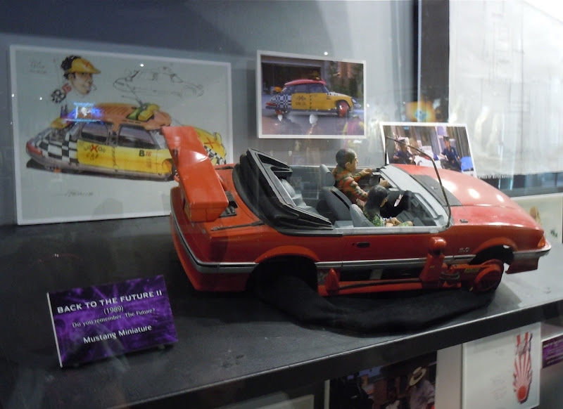 Back to the Future 2 Mustang Miniature model