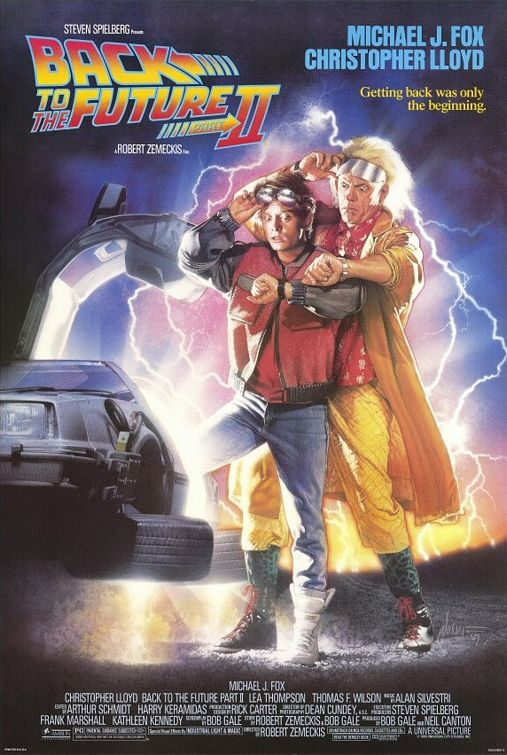 Back to the Future 2 film poster