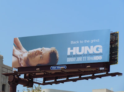Hung season 2 TV billboard