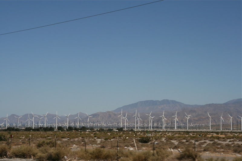 Wind farm Palm Springs