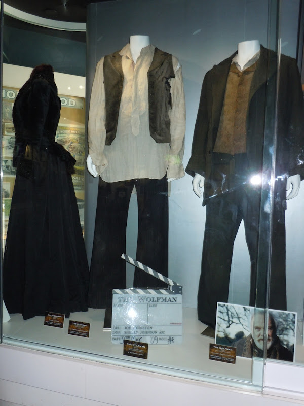The Wolfman movie costumes