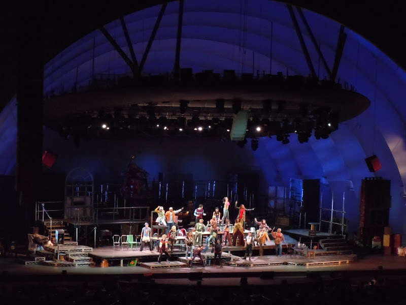 Rent musical Hollywood Bowl