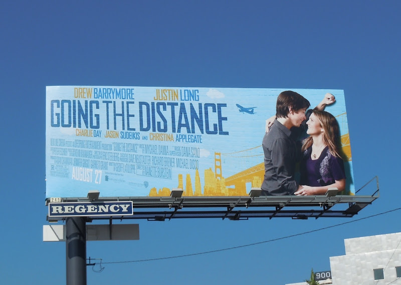 Going The Distance movie billboard