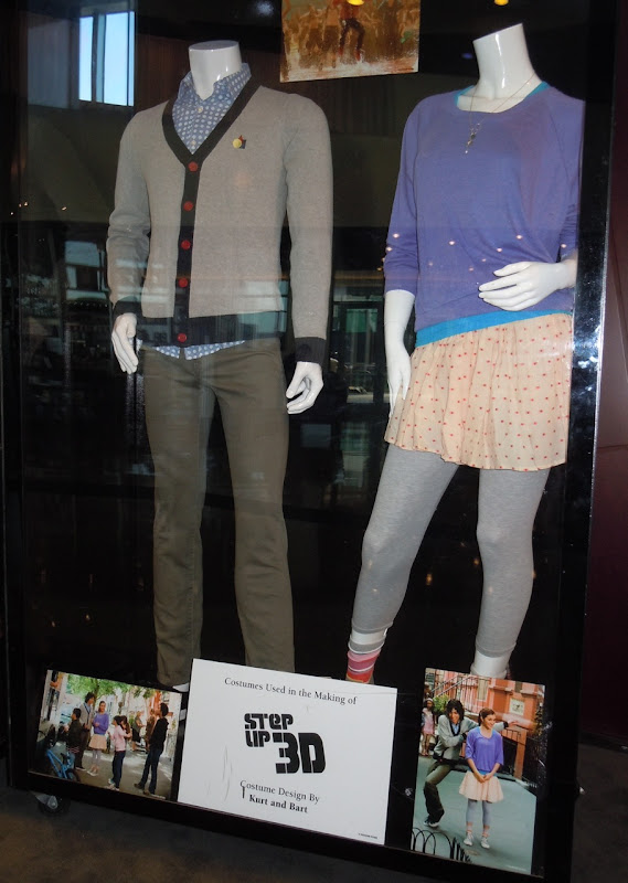 Step Up 3D Moose and Camille costumes