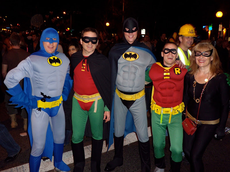 WEHO Halloween Batmen and Robins 09