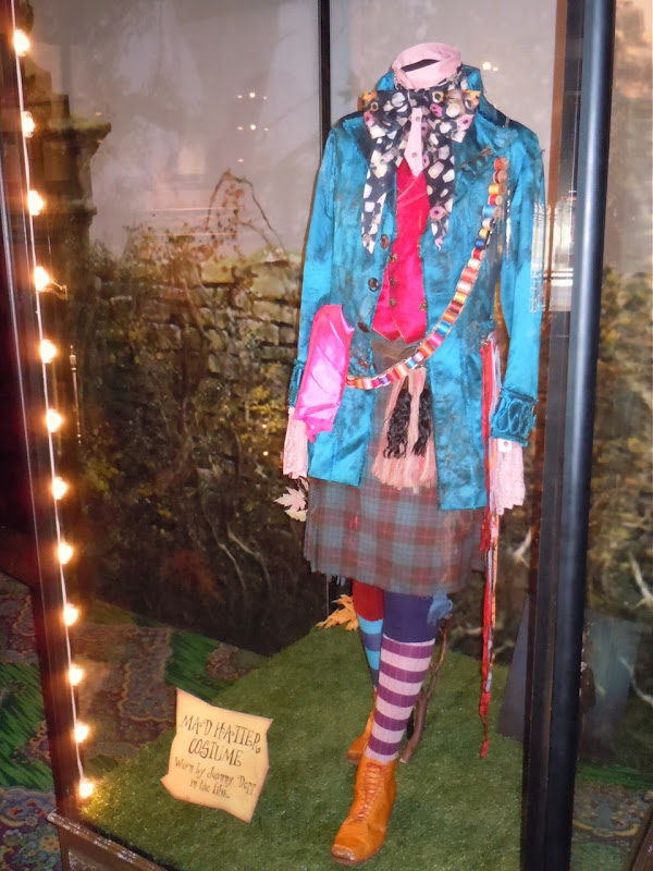 Johnny Depp's Mad Hatter costume