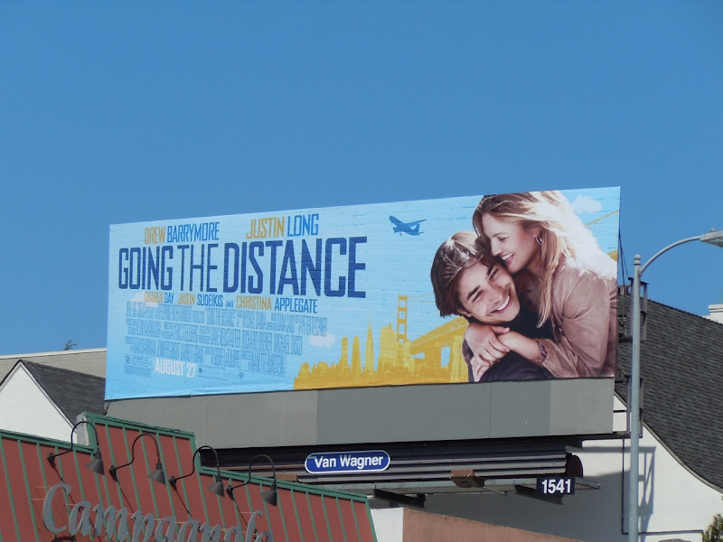 Going the Distance film billboard
