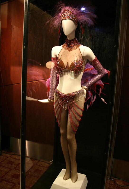 Nine movie Folies Bergere dancer costume