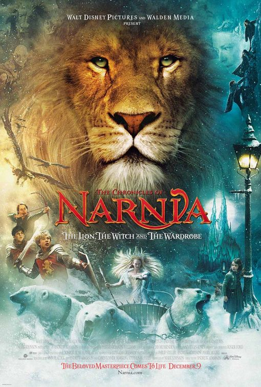 Narnia's Lion, Witch and Wardrobe movie poster