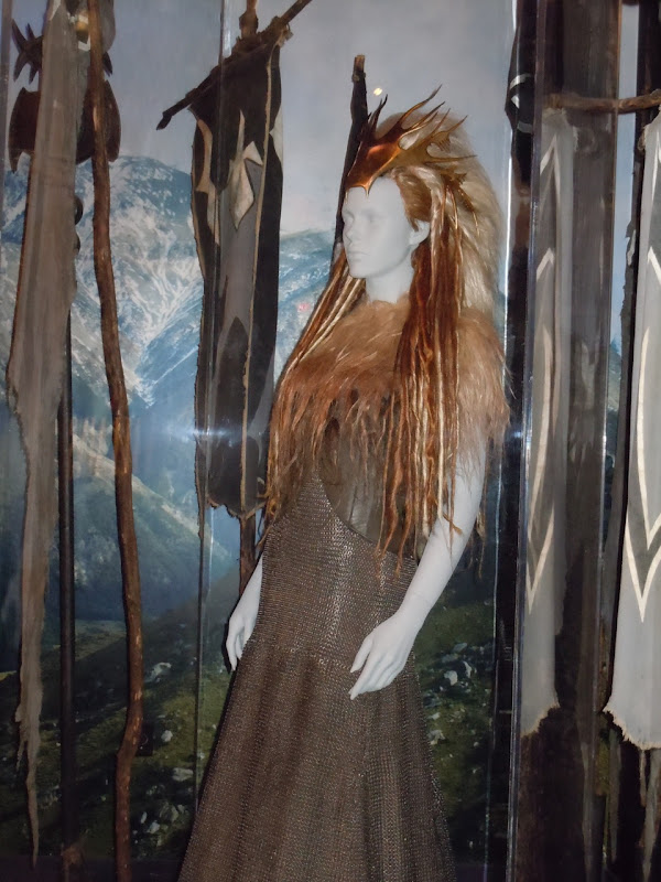 Tilda Swinton White Witch battle costume