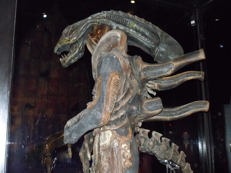 Aliens costume side view
