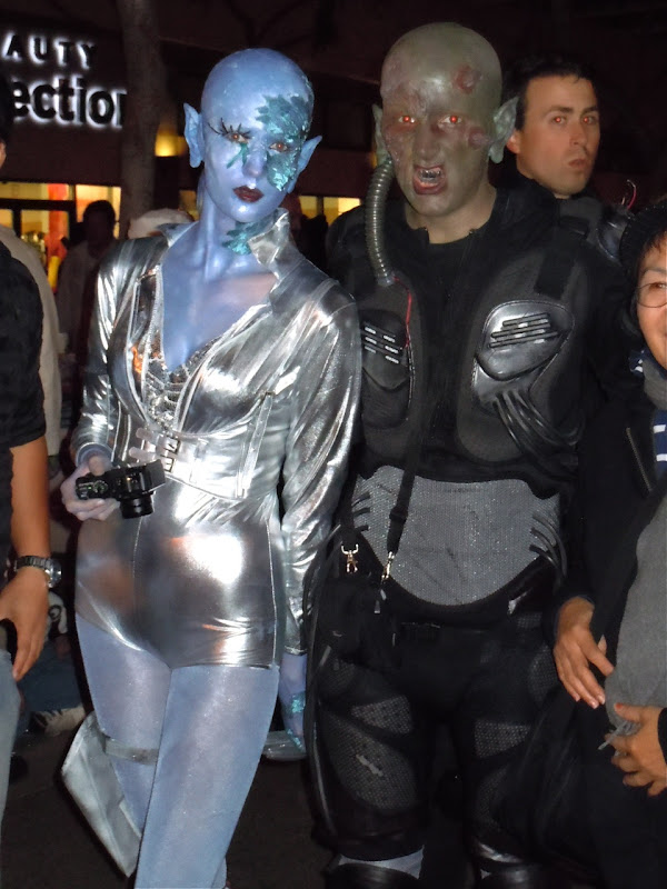 West Hollywood Halloween sci-fi costumes