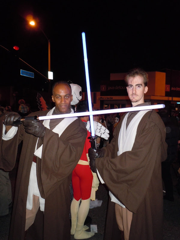 West Hollywood Halloween Carnaval Jedi
