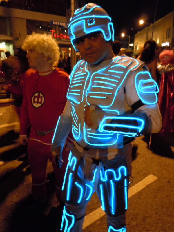 West Hollywood Halloween Carnaval Tron
