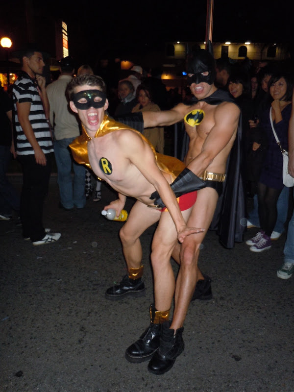 West Hollywood Halloween Dynamic Duo