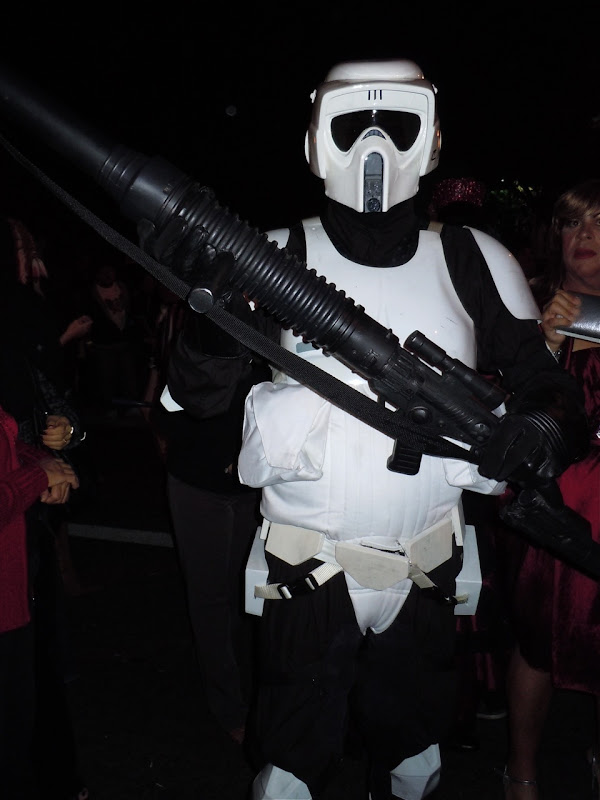 West Hollywood Halloween stormtrooper